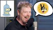 John DiMaggio (Futurama's Bender) Improvises 11 New Cartoon Voices