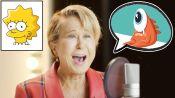 Lisa Simpson (Yeardley Smith) Improvises 8 New Cartoon Voices