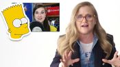 Nancy Cartwright (Bart Simpson) Reviews Impressions of Her Voices