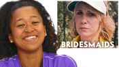 Naomi Osaka Reviews Tennis Scenes, from 'Bridesmaids' to 'Battle of the Sexes'