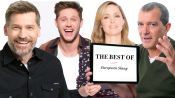 Niall Horan, Nina Dobrev, & Antonio Banderas Teach You the Best European Slang
