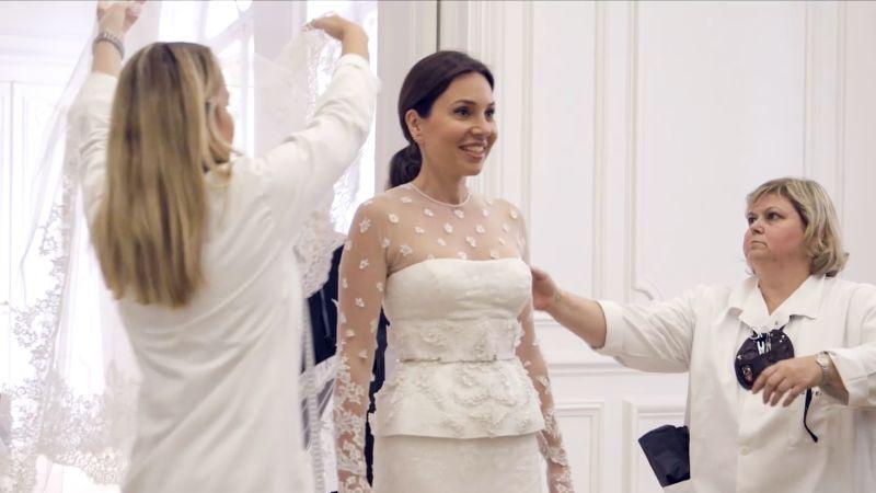 Watch Vogue Weddings | Fabiola Beracasa\'s Final Wedding Dress ...