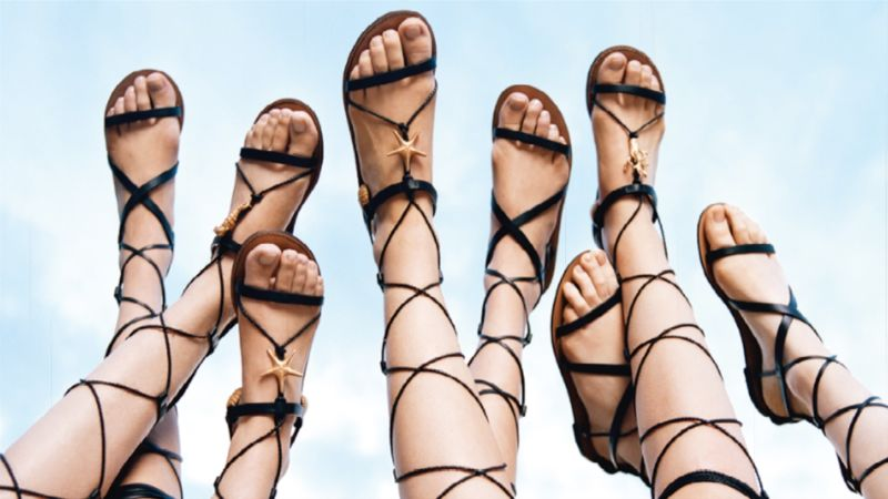 aed00dd184e A History of the Gladiator Sandal - Vogue