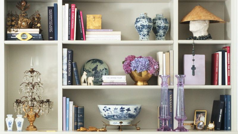 Watch How To Create The Ultimate Shelfie With Interior Designer Classy Vogue Interior Design Set