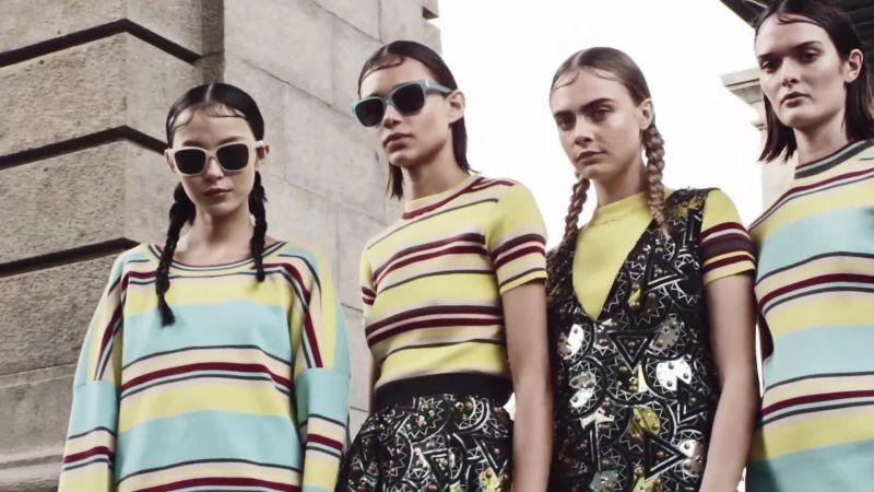 Cara Delevingne žiari v kampani pánskej kolekcie pre DKNY jar 2015 ... 14bd0e70f3d
