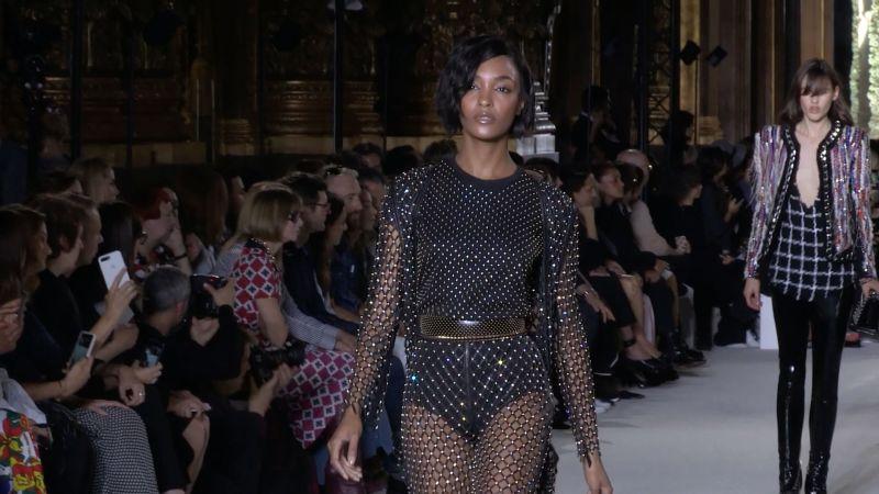 Balmain Spring 2018 Ready To Wear Collection Vogue