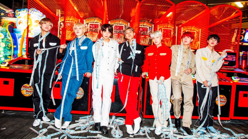 """BTS Takes on L A  With Vogue—And It's """"Hella Lit"""" - Vogue"""