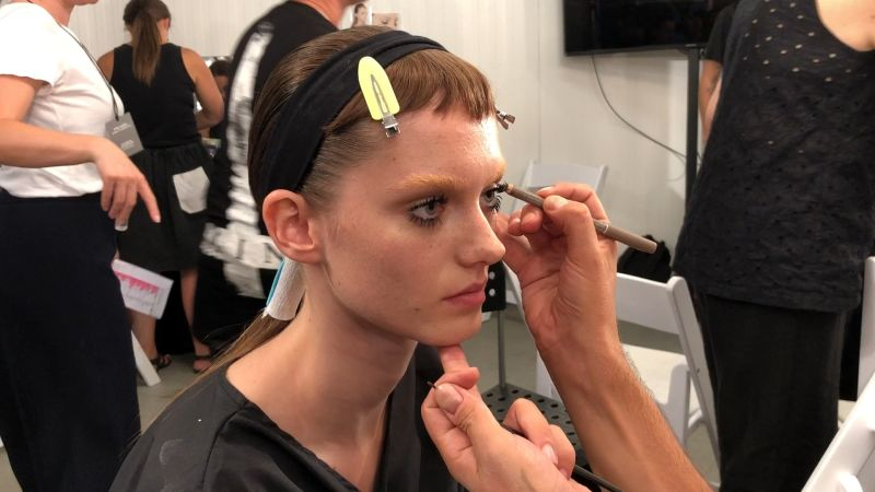 Watch Vogue Fashion Week Boyish Bangs Baby Doll Lashes Just Don