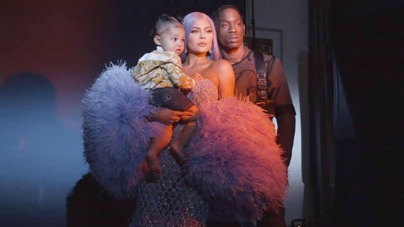 Kylie Jenner Pierces Baby Stormi's Ears—and Sparks a Cultural Debate