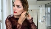 Easy Black-Tie Beauty With Sofía Sanchez de Betak