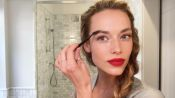 Watch Model Hannah Ferguson's Guide to Her Magic Matte Red Lip