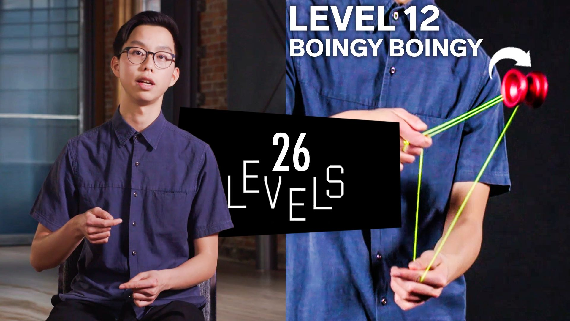 Watch 20 Levels of Yo Yo Tricks Easy to Complex   Levels   WIRED