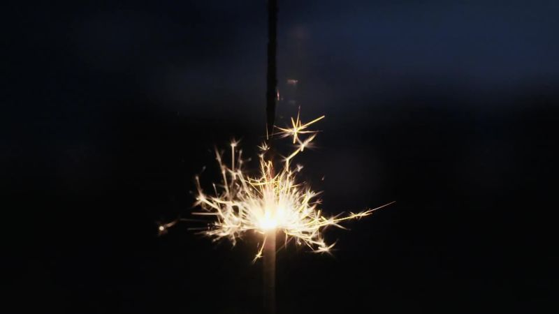 The Awesome Physics in a Simple Sparkler | WIRED