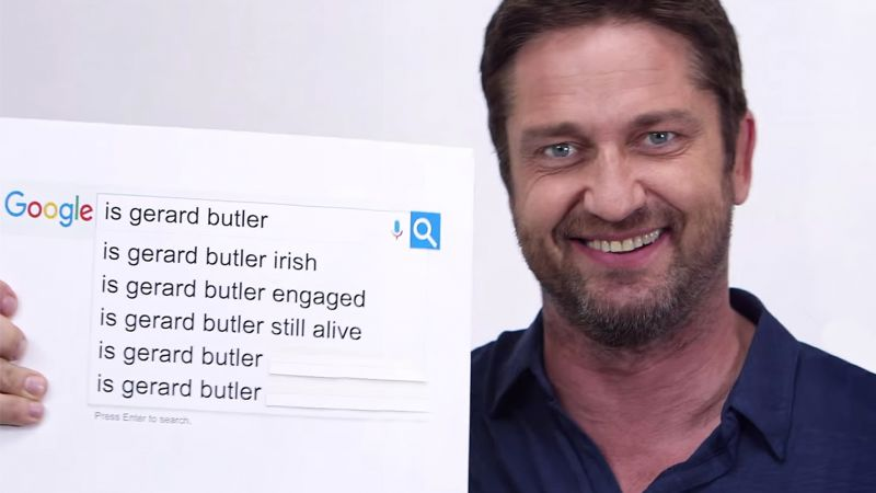 Watch Gerard Butler Answers Everything You\'ve Ever Wondered About ...