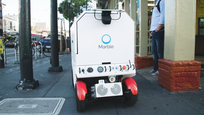 Postmates' Quest to Build the Delivery Robot of the Future   WIRED