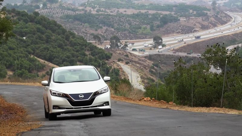 The New Nissan Leaf First Drive Impressions Wired