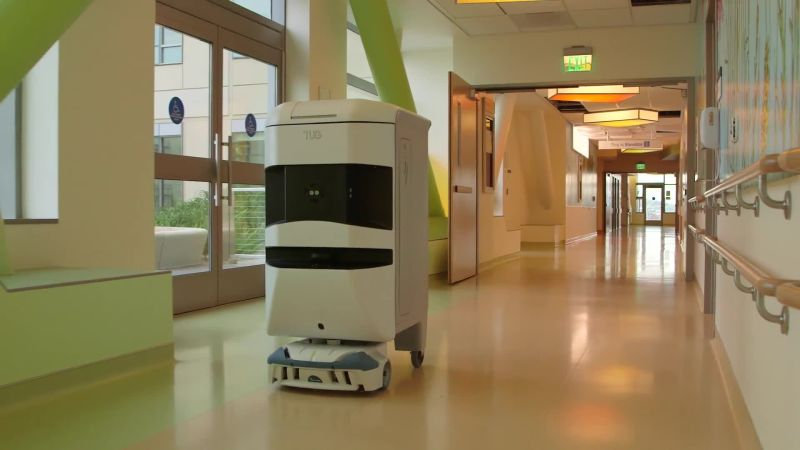 Meet Tug, the Helpful Robot Rolling Its Way Into Hospitals