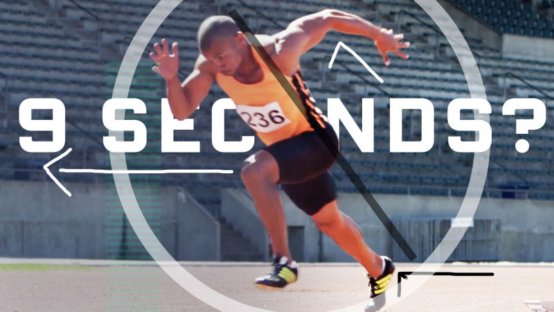 Why It's Almost Impossible to Run 100 Meters In 9 Seconds