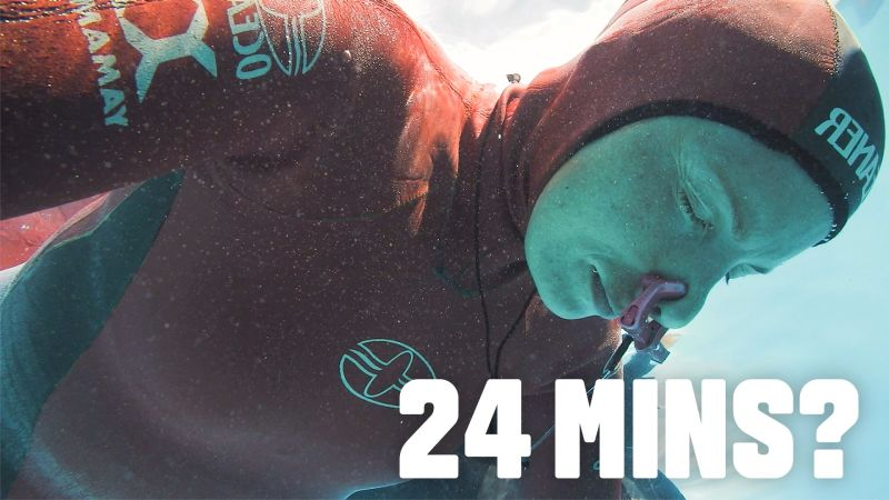What It Takes to Hold Your Breath for 24 Minutes (Yeah, It's a Thing