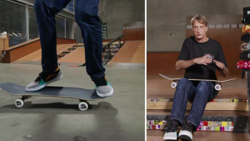 Spencer hawk skateboarding