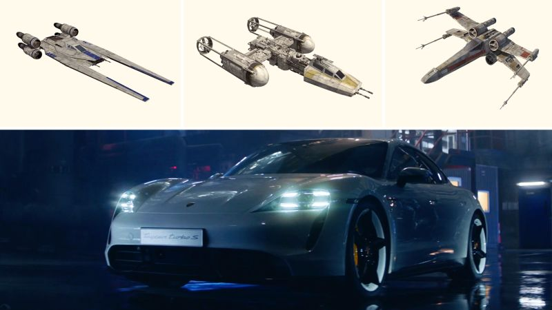How Porsche and Lucasfilm Teamed Up to Create a New Star Wars Starship