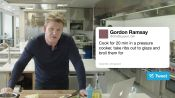 Gordon Ramsay Answers Cooking Questions From Twitter