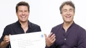 Tom Cruise & Doug Liman Answer the Web's Most Searched Questions