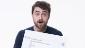 Daniel Radcliffe Answers the Web's Most Searched Questions